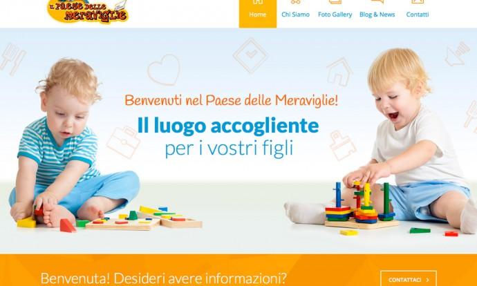 Nuovo sito web Il Paese delle Meraviglie Pescara